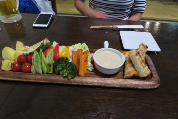 炭火焼き野菜のバーニャカウダ