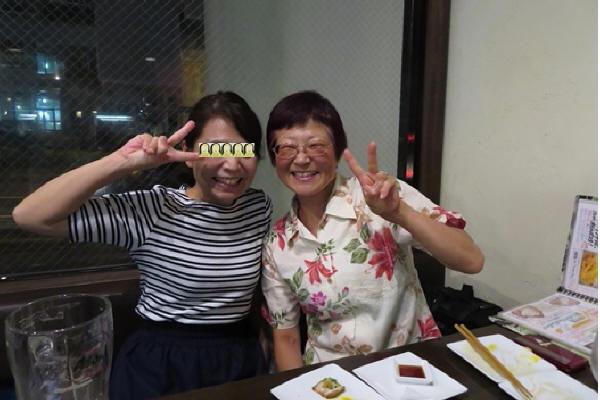 カミさんとRinkoさん